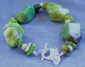 Powerful  Chrysoprase  Bracelet