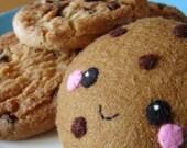 Happy cookie keychain