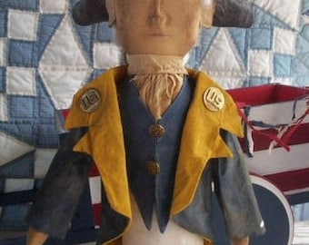 President George Washington doll Make Do Epattern