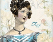 Jane Austen Fanny Price Set of 3 Cards