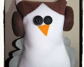 SALE Princess Lilly the Owl special cuddly (Star Wars inspired) friend