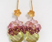 BOUQUET GEMSTONE EARRINGS