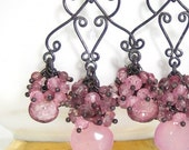 JABOT GEMSTONE EARRINGS - SPRING COLLECTION 2010
