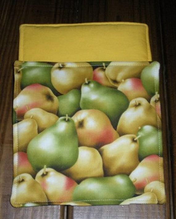 Fresh Pears  Hot Pad