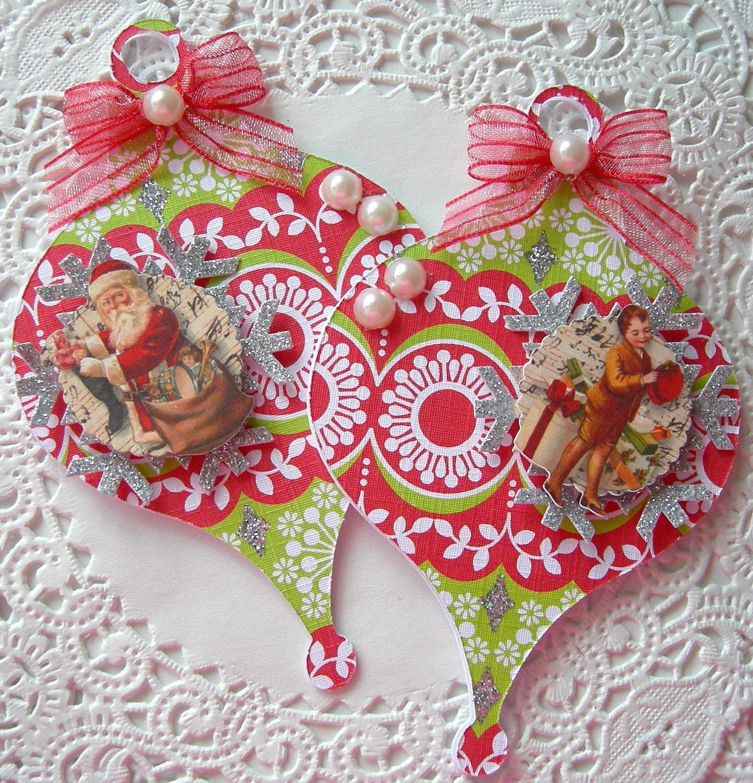 Handmade Christmas Ornament Embellishments