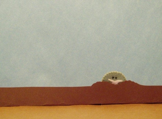Star-Nosed Mole Finger Puppet