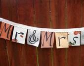 Mr & Mrs Wedding Bunting Custom