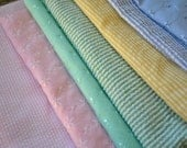 Eco Friendly Wedding Cloth Napkins for Events made from Vintage Fabrics-  Set of 80