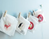 DIY KIT Silhouette Advent Calendar by Le Papier Studio