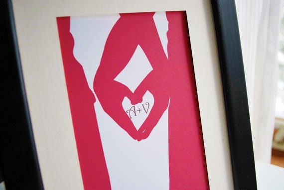 Heart and Hands Print