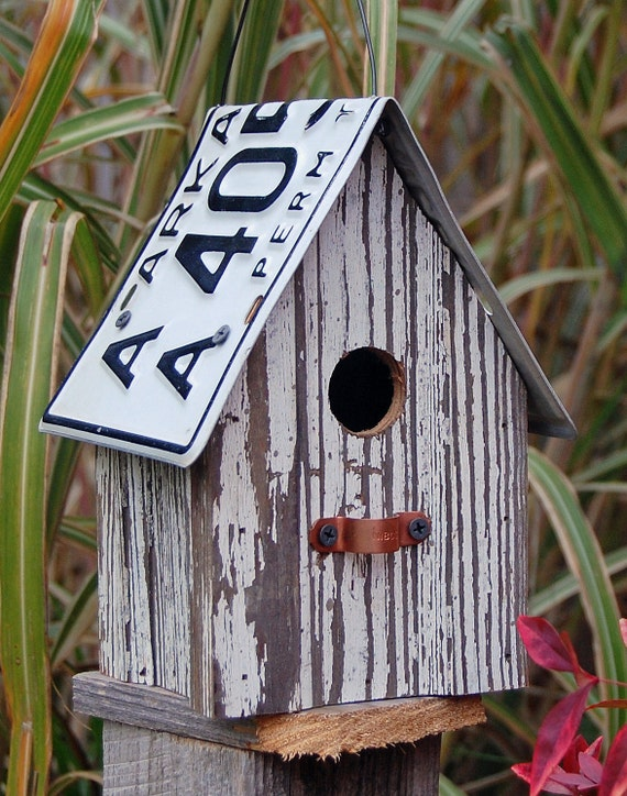 Birdhouse - 100 Year Old Wood