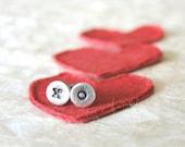 XO Studs - Sterling Silver Earrings