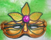 Wall Hanging Halloween / Mardi Gra Mask - RFColorfulCreations