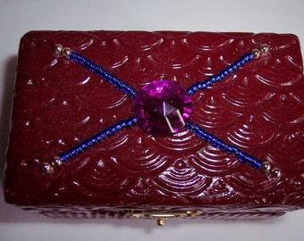 Ruby Trinket Box Clearance Sale
