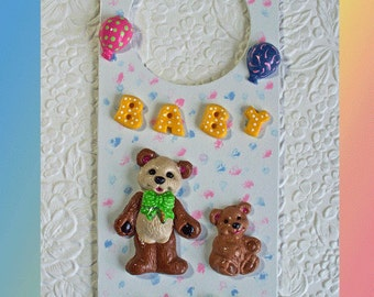 Baby Sleeping Door Hanger No. 2