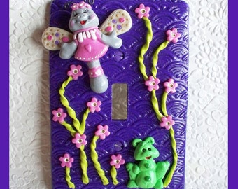Childrens Light Switch Plate