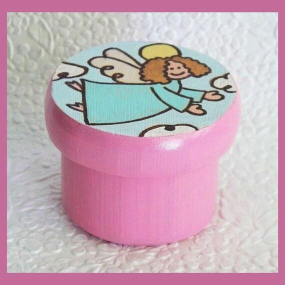 Girls Tooth Fairy  or Trinket Box