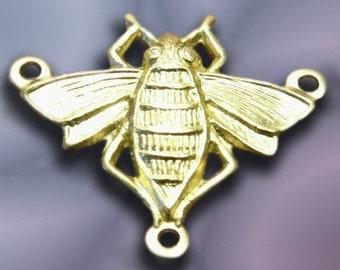 Raw Brass BEE Stamping 4       07802