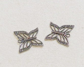 Antique Silver  Finish Flat Butterflies  06483 1r asp