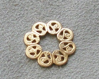Raw Brass Filigree Brass Stamping
