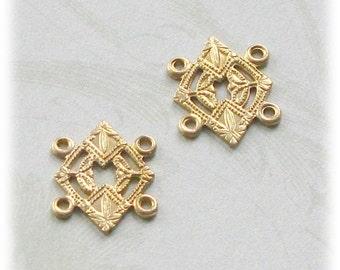 Raw Brass stamping  267b