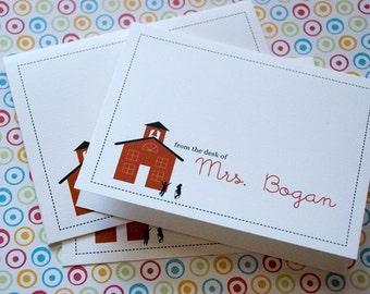 Schoolhouse Notecards