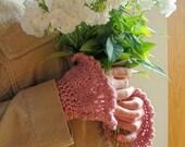 Crochet PATTERN - Victorian Cuff Wristwarmers Crochet PATTERN in PDF Format