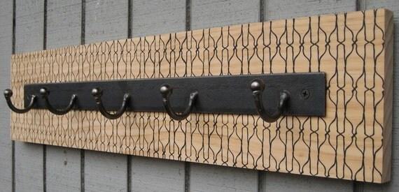 lattice coat rack