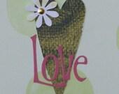 SALE - Love Card