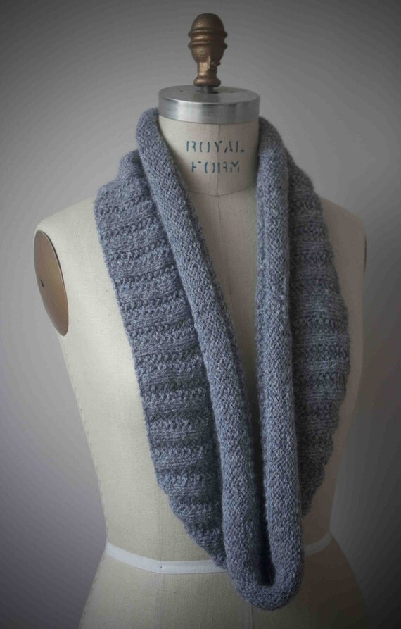 Knitting Pattern For Eternity Scarf : Eternity Scarf Knitting Pattern