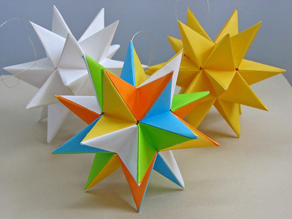 How To Make A Modular Origami Star Ball Origami Tutorial Lets