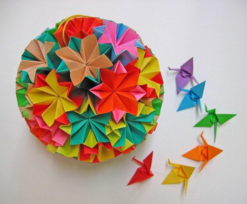 Origami Crane Mobile Etsy