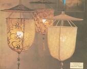 OOP Vogue 2056 Hanging Lamps FORTUNY lampshade DESIGNER
