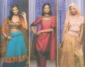 Simplicity 4249 Sewing Pattern Choli Genie Sizes 14-16-18-20 Indian Sari Belly Dancer