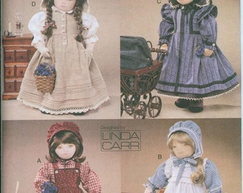 Vogue 7564 American Girl 18 Inch Doll Dress Sewing Pattern Lots of Options Kirsten
