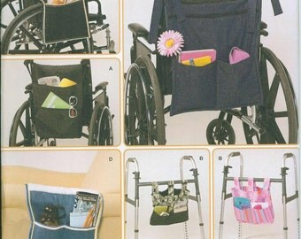 Simplicity 2382 Wheel Chair and Walker and Lounge Chair Accessories Sewing Pattern