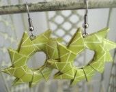 Greenery Wheel Earrings
