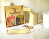 Vintage Steamer Wrinkle Remover Clothes Steamer Appliance General Electric Travel Valet