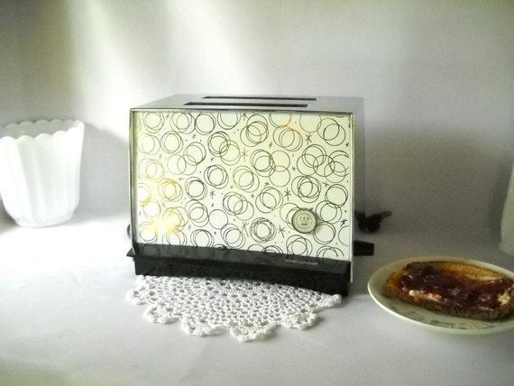 Vintage Toaster Electric Toaster Westinghouse Retro Atomic Pop Up Toaster 1950s Kitchen