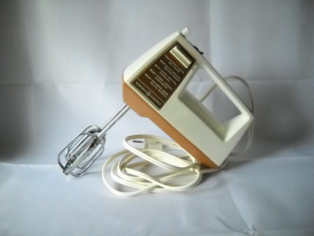 vintage mixer general electric hand mixer appliance cooking