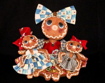 Gingerbread Dolls E Pattern