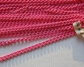 Vintage Pink Enameled Chain Japan chn019