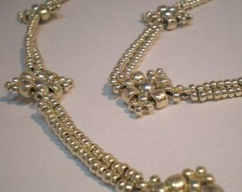 Lacy Diamonds PDF Pattern Beading Tutorial Beadweaving Necklace Beads