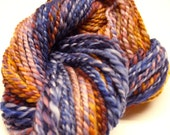 64yds Handspun Hand Dyed Merino Wool Yarn