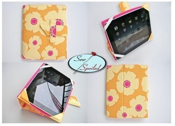 Sewing Pattern iPad Folding Case/ Notebook/ Stand ePattern
