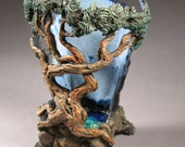 Bonsai Inspired Vase 11 July 11