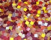 500 1/2 Inch Sunshine Mix Stained Glass Mosaic Tiles