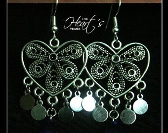 The Heart's Tears - Earrings by Christina Stoppa