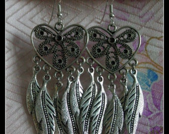 Wings of the Heart - Earrings by Christina Stoppa