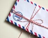 Par Avion, Destash 10 Retro Air Mail Envelopes